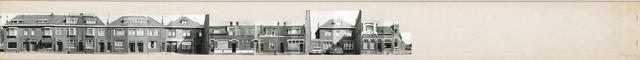 1625_0289 - Fotostrook; straatwand; panden aan de linten en hoofdverbindingswegen in het centrum van de stad;