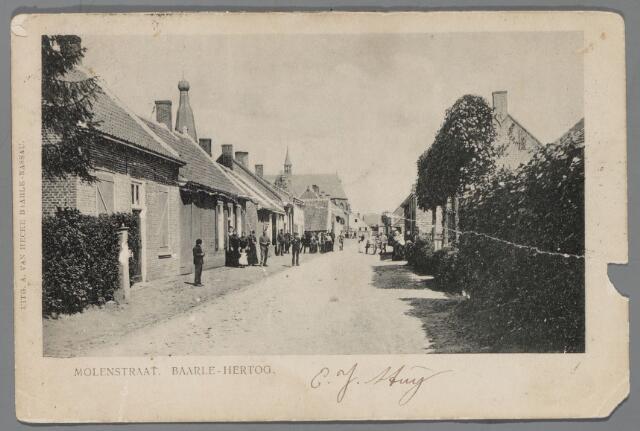 065527 - Inkijk in  de Molenstraat te Baarle-Hertog