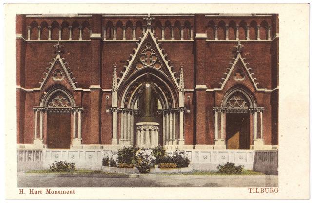 000975 - Monument H. Hart voor de St.Jozefkerk aan de Heuvel