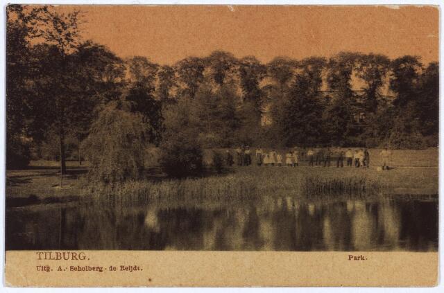 002962 - Wilhelminapark, vijver.