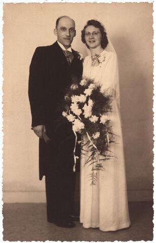 003460 - trouwfoto bruidspaar  Van Asten