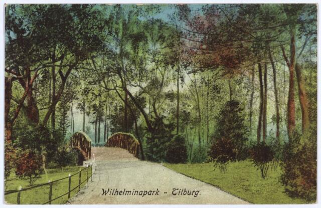 002957 - Wilhelminapark, bruggetje.