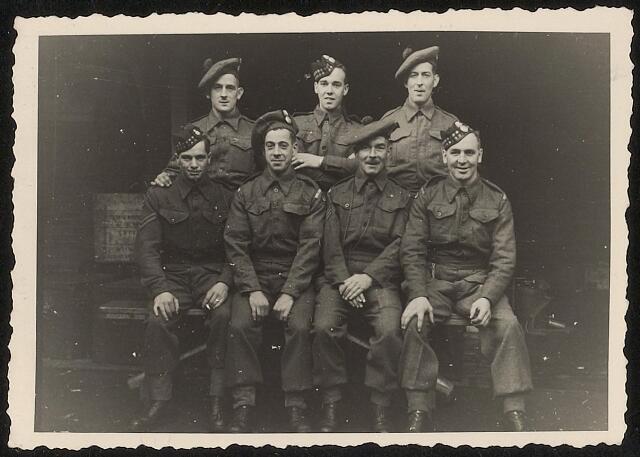 603930 - WO2 ; WOII ; Schotse bevrijders. Tweede Wereldoorlog