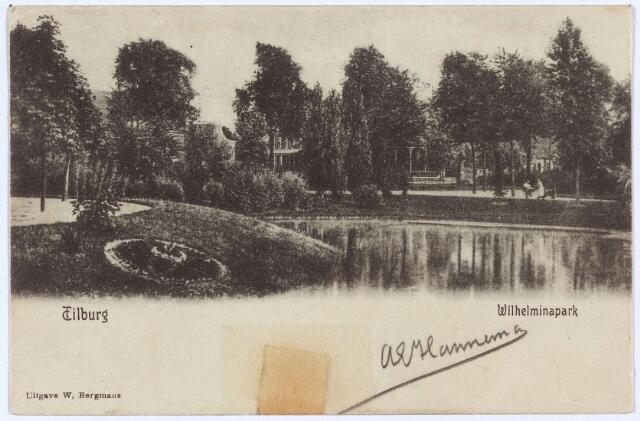 002909 - Wilhelminapark, vijver.