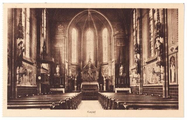 001575 - Lange Nieuwstraat, interieur kapel St. Josephgasthuis.