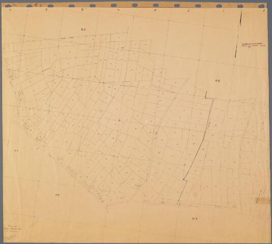 104872 - Kadasterkaart. Kadasterkaart Oosterhout Sectie Q1, Schaal 1 : 2.500.