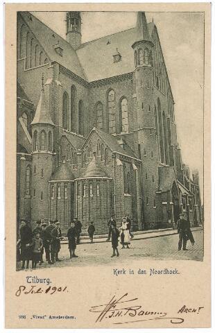 000653 - Hart v.  Brabantlaan, voorheen Industriestraat, kerk in de Noordhoek.