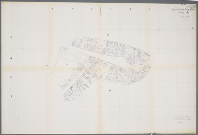059411 - Kadasterkaart. Kadasterkaart Geertruidenberg B2