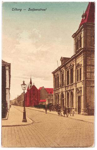 000030 - Bisschop Zwijsenstraat met rechts het voormalige hoofdbureau van politie.