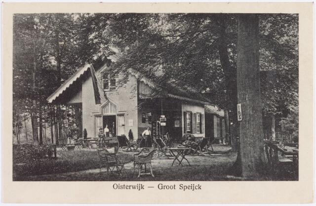 """057646 - Horeca. Van Tienhovenlaan. Uitspanning """"Groot-Speijck""""."""