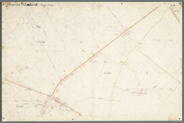 051006 - Kaart. Wegenkaart Udenhout