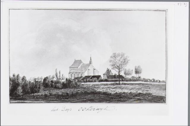 057139 - Tekening. Oisterwijk Tekening van D.T. Gevers van Endegeest.