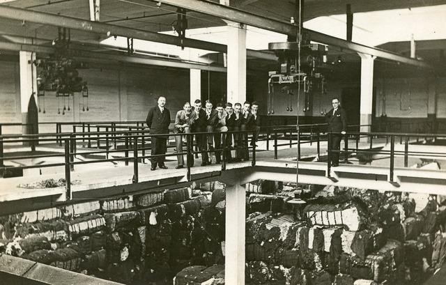 603182 - Textielschool, Tilburg. Excursie Katoenweverij in Rotterdam