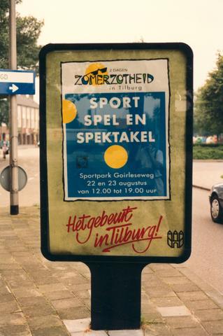 653081 - Zomerzotheid in Tilburg. Sport spel en spektakel.