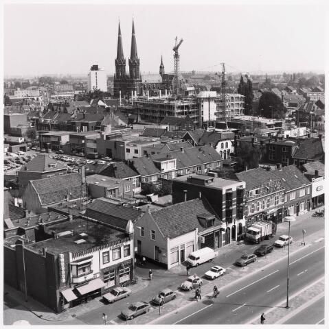 """036449 - Panorama van Tilburg vanaf de """" Katterug """"."""