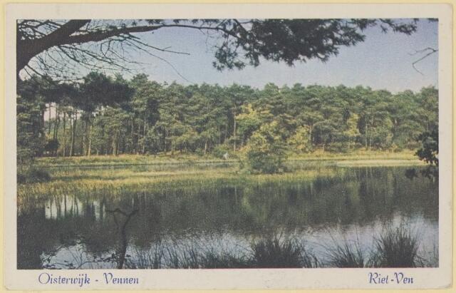 075248 - Serie ansichten over de Oisterwijkse Vennen.  Ven: Rietven.