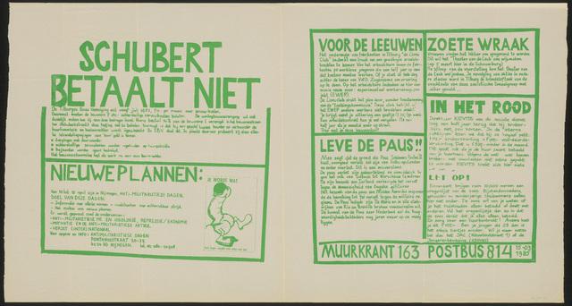 668_1985_163 - Muurkrant: Schubert betaalt niet