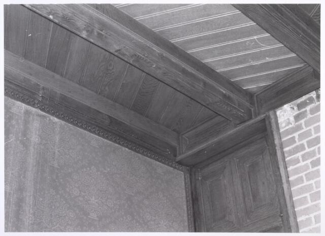 017921 - Detail van het interieur van hofstede De Blaak (jachtkamer)