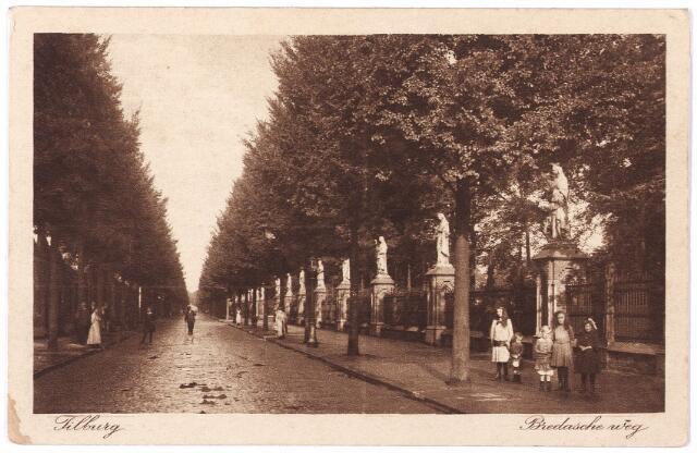 000090 - Bredaseweg.Beeldengalerij bij het kerkhof.