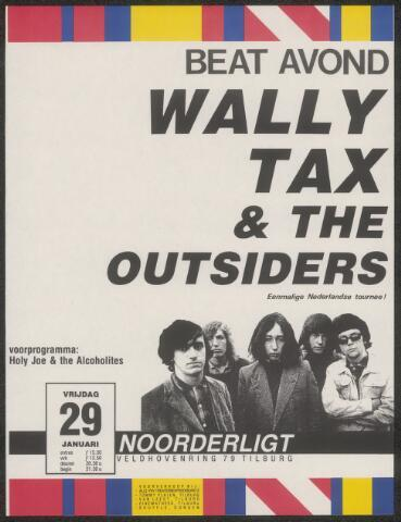 650236 - Noorderligt. Wally Tax & The Outsiders. Support act:  Holy Joe & The Alcoholites
