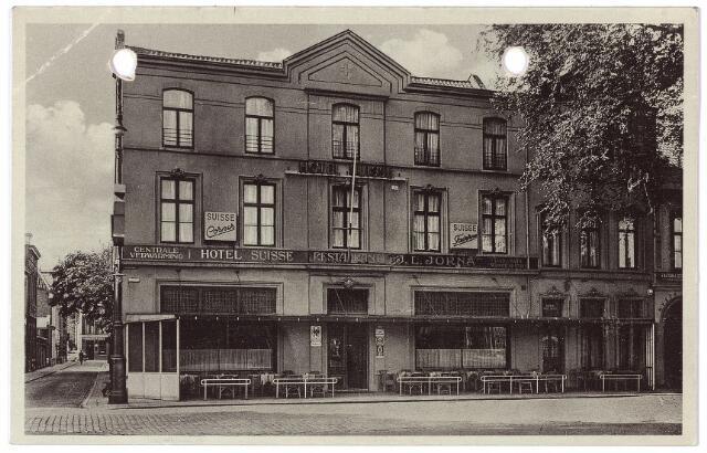 002170 - Spoorlaan 114/116n , hotel Suisse op de hoek van de Langestraat.