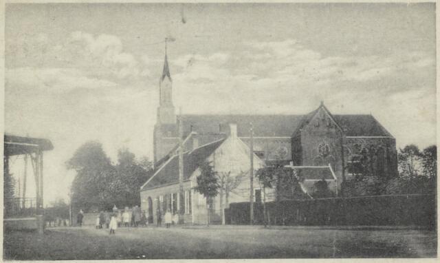 91732 - Made en Drimmelen. Deze briefkaart is in 1926 gestuurd aan : Mej. Corry Huysmans, Stationsstraat A25 in Zevenbergen. De ansichtkaart is een aanwinst uit 1979