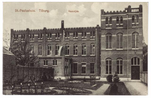 000497 - voorzijde St. Paulushuis, van de paters/fraters van Tilburg aan de Gasthuisstraat.