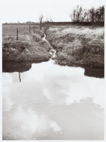 """063079 - """"de stortplaats van Roessel"""" bij de Voorste stroom (ontwateringssloot)"""