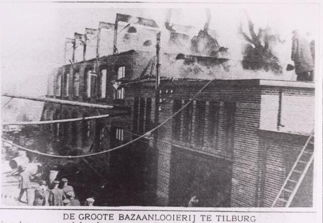 016858 - Op 16 mei 1920, ´s middags om half drie, brak er brand uit bij looierij Pessers - Verbunt