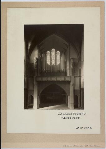 020047 - Orgel, gebouwd door de firma Vermeulen, in de kerk van het Heilig Hart, parochie Noordhoek