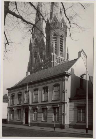 021320 - Pastorie van de St.-Jozefkerk aan de Heuvel in 1952