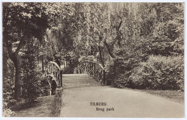 002954 - Wilhelminapark, bruggetje.