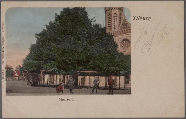 011343 - De lindeboom op de Heuvel.