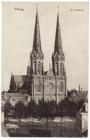 000960 - Kerk St. Jozef aan de Heuvel gezien vanuit de Tuinstraat.