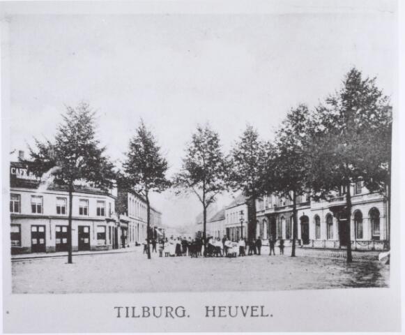 020938 - Heuvel omstreeks 1902. Midden op de achtergrond de tegenwoordige Korte Heuvel