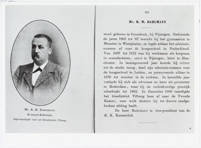 006427 - Bernard Maria Bahlmann, geboren Groesbeek 1848. Overleden 1878, begraven te Nijmegen RK begraafplaats Daalseweg, locatie: vak 24, rij 6, no. 05.