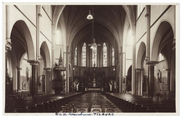 000713 - Hasseltstraat, interieur kerk van O. L. V. van de H. Rozenkrans.