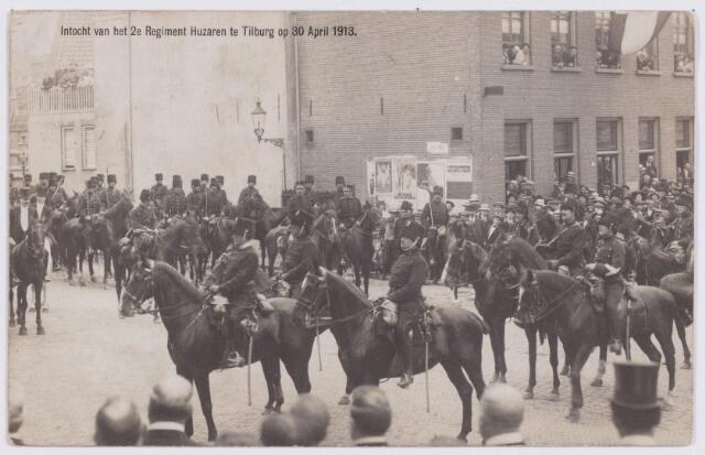 053559 - Intocht van tweede regiment Huzaren