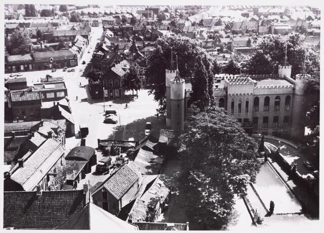 036372 - Panorama van Tilburg vanaf de toren van de Heikense kerk