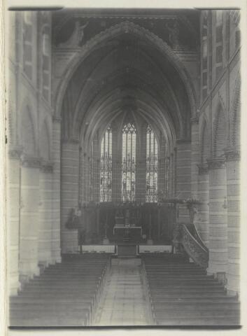 88925 - R.K. kerk St. Antonius Abt, Terheijden (interieur)