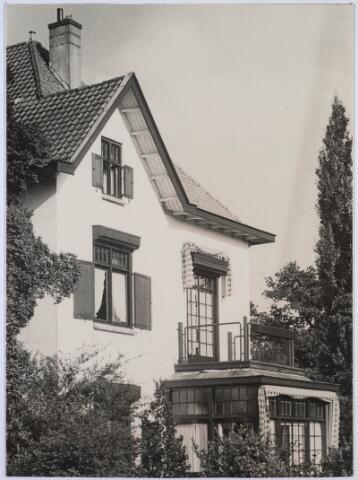 023864 - My Home van de familie Verschuuren - Swagemakers op Koningshoeven, gesloopt in maart 1971. Foto dateert van omstreeks 1954
