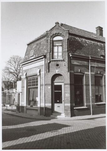 025545 - Winkelpand op de hoek Korte Tuinstraat - Langestraat