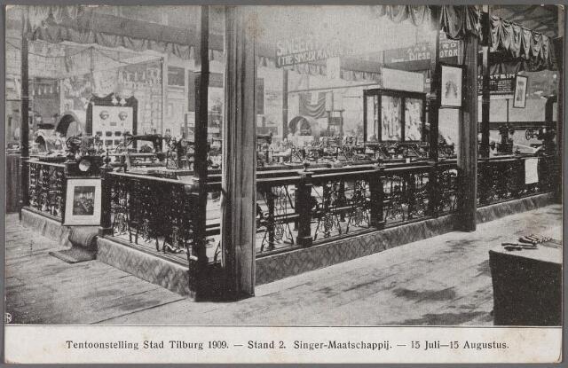 011276 - Tentoonstelling 'Tilburg Stad 1909'.