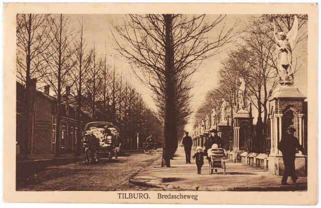 000087 - Bredaseweg, beeldengalerij bij het kerkhof.