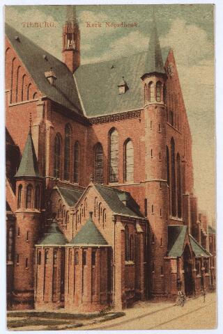 000658 - Hart v. Brabantlaan, toen Industriestraat, kerk H. Hart (Noordhoek)