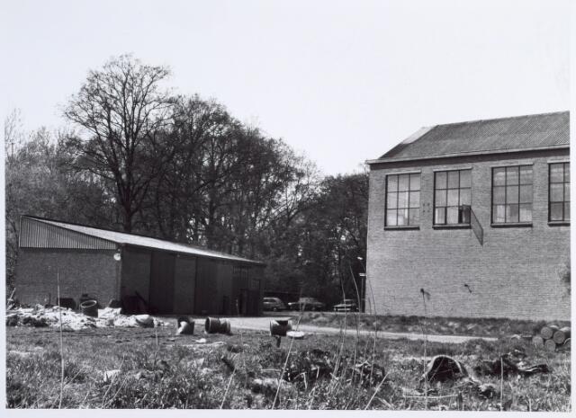 014612 - Binnenplaats van de Tilburgse Wolwasserij aan de Berglandweg
