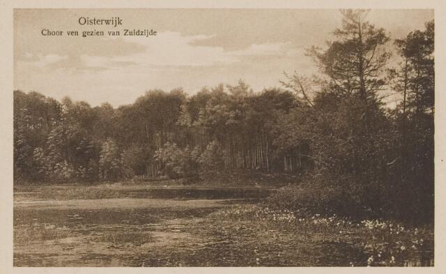 075105 - Serie ansichten over de Oisterwijkse Vennen.  Ven: Choorven.