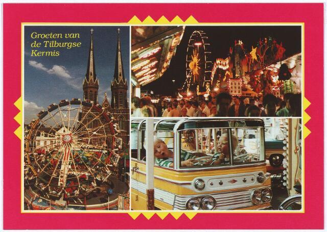 003258 - 'Groeten van de Tilburgse Kermis'