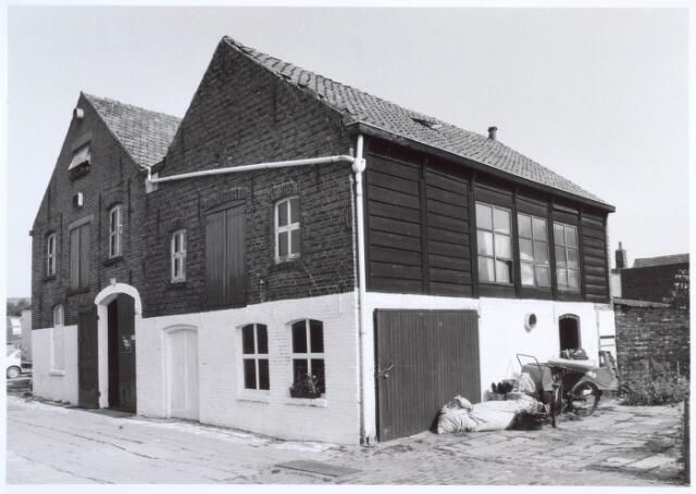 019546 - Voormalige leerlooierij achter het pand Goirkestraat 151. Het rechtergedeelte werd omstreeks 1895 gebouwd