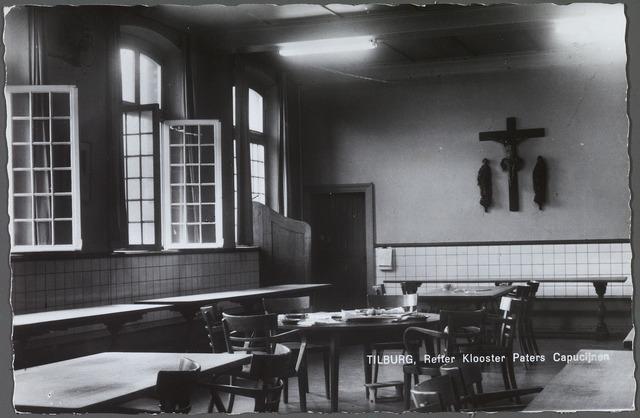 010148 - Refter van het klooster van de paters kapucijnen aan de Korvelseweg.